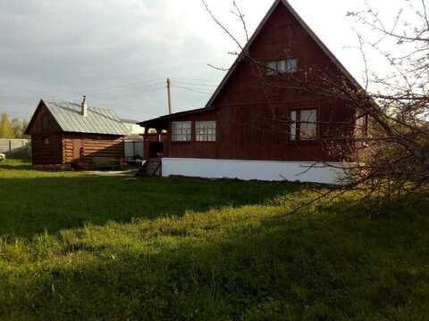 Дом с Баней, 12 соток, СНТ Веригино-2 - Фото 1