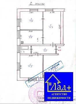 Продам 3-ком квартиру в Курске по ул. Заводская, микрорайон «кзтз», - Фото 2