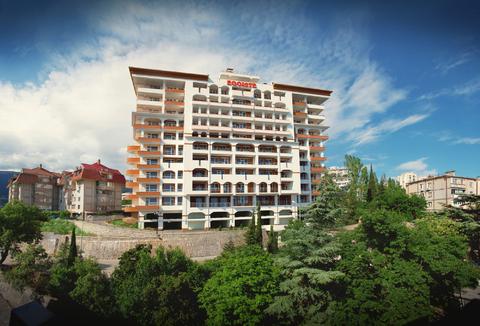Видовая квартира в Ялте в новом доме - Фото 1