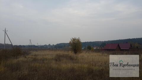 Участок 10 соток с лесными видами в деревне Протасово Ступинского р-на - Фото 3