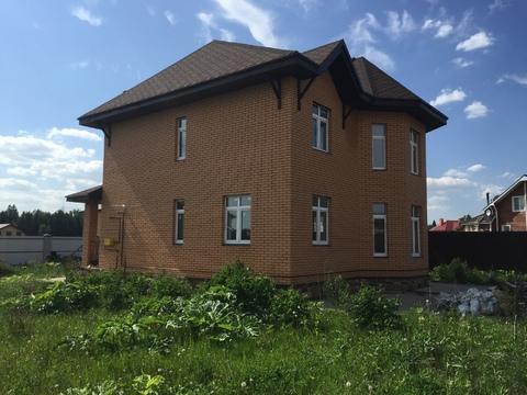 Дом под ключ, возле Троицка, с коммуникациями, 181 кв.м. на 12 сотках - Фото 1