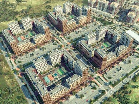 Продажа двухкомнатная квартира 60.98м2 в ЖК Солнечный гп-1, секция к - Фото 3