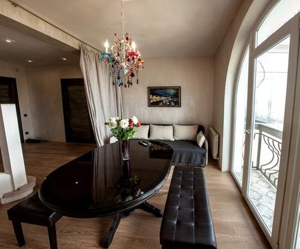 Рехэтажные апартаменты 110 кв. м. с великолепным видом на горы, море и - Фото 4