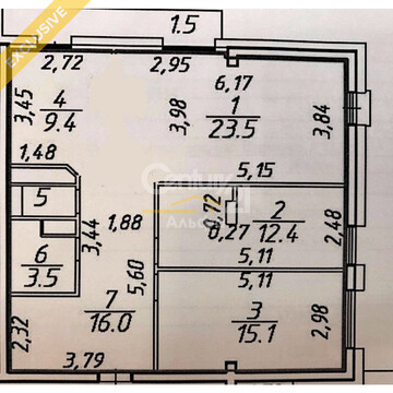 Продается трехкомнатная квартира по наб.Варкауса, д. 21 - Фото 3