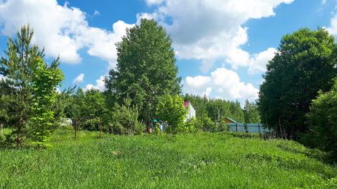 17 соток наедине с природой, д.Горки, Заокский р-он, рядом лес и р.Ока - Фото 1