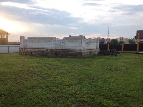 Продажа участка с новым фундаментом в Волоколамске Шаховской проезд - Фото 1