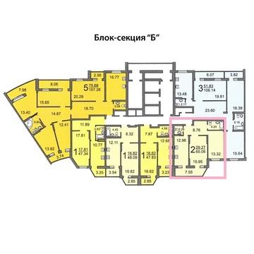 2-к квартира в новом доме возле Детского парка - Фото 3
