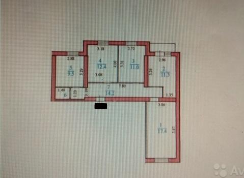 Продается уютная 3х комнатная квартира - Фото 4