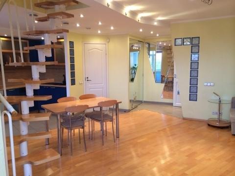 Эксклюзивная двухуровневая видовая квартира 173 м2., Продажа квартир в Санкт-Петербурге, ID объекта - 321166704 - Фото 1