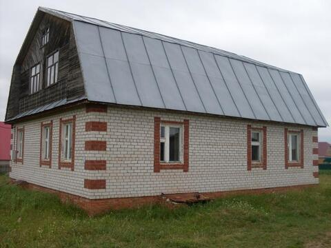 Кирпичный дом в Тюлячах с участком земли 15 соток - Фото 2