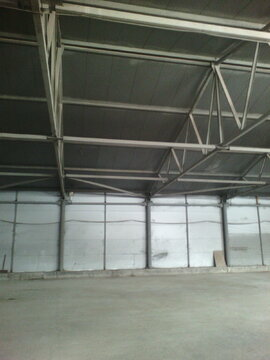 Утеплённый склад 580 кв.м. в Цемдолине, высота 5,8 м. - Фото 3