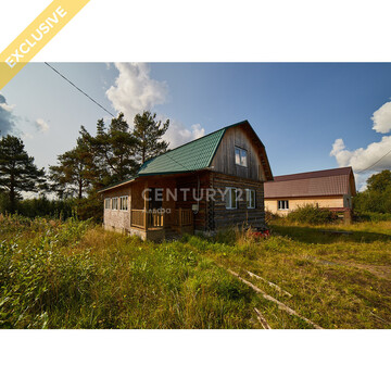 Продажа дома 90 м кв. на участке 15 соток в с. Заозерье - Фото 1