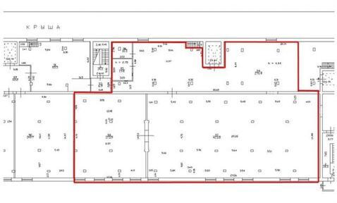 Сдам производственное помещение 770 кв.м, м. Выборгская - Фото 5