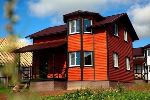 Готовый дом 100 кв.м. с участком 6 соток д.Ходаево Чеховский район - Фото 1