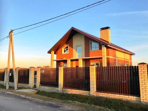 Дом в д.Крева 186м2 - Фото 1