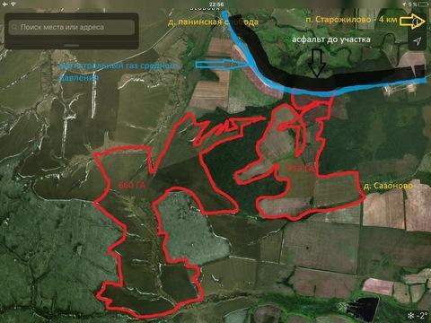 Земельный участок в Сторожиловском районе Рязанской области - Фото 1