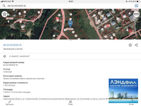 Участок под ИЖС, п. Соколовый, ул. Дача, 18 - Фото 4