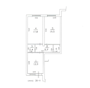 Объявление №46680473: Продажа помещения. Всеволожск, ул. Центральная (Южный), 8,