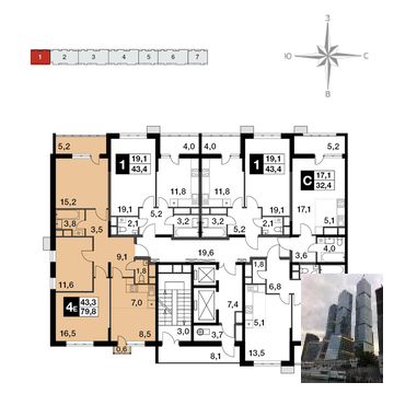 Продажа квартиры, Балашиха, Балашиха г. о, Ул. Ситникова - Фото 2