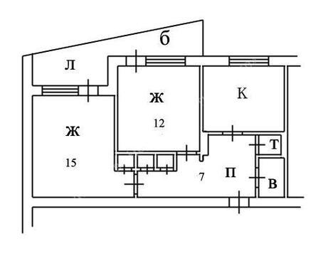 Продажа комнаты, Великий Новгород, Ул. Береговая - Фото 1