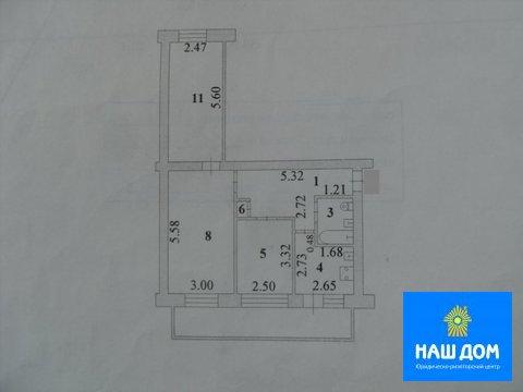 Двухкомнатная квартира: г.Липецк, 4-й Пятилетки улица, д.8 - Фото 2