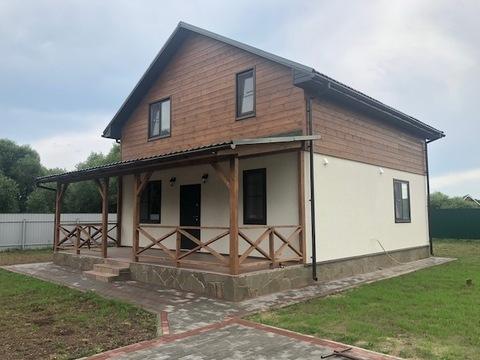 Новый дом под ключ, с. Ивановское, Чеховский район - Фото 1
