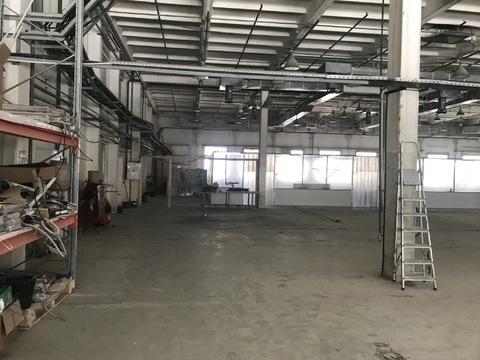 Сдается производственно-складское помещение 1000 кв. м. Водоснабжение - Фото 2
