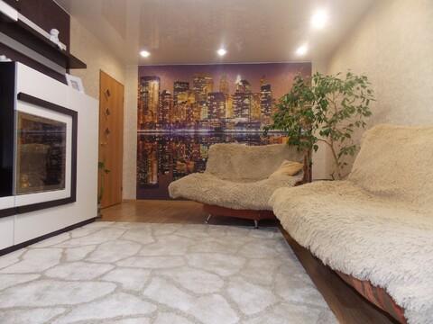 3-х комнатная квартира с ремонтом и частично с мебелью! - Фото 5