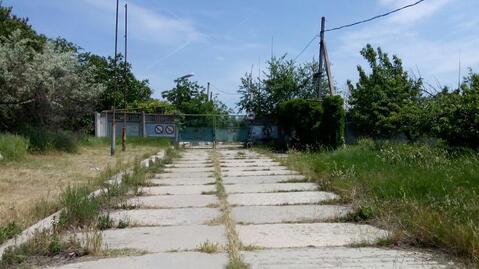Промышленная площадка с ангаром в Крыму. - Фото 2