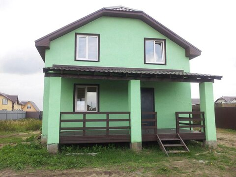 Продается новый дом под ключ 160м, 10сот, с. Малышево, Раменский район - Фото 2