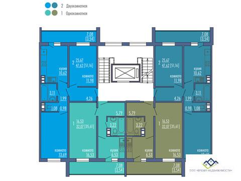 Продам 2-тную квартиру Краснопольский пр14,10эт, 51кв.м.Цена 1900 т.р - Фото 3