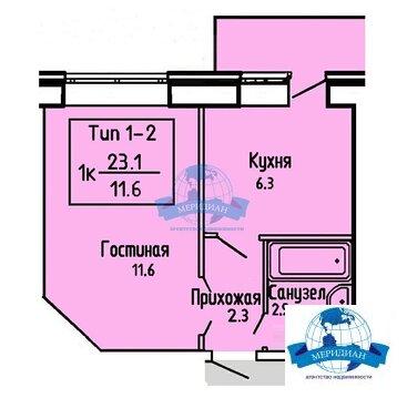 Квартира в новостройке с инд. отоплением !