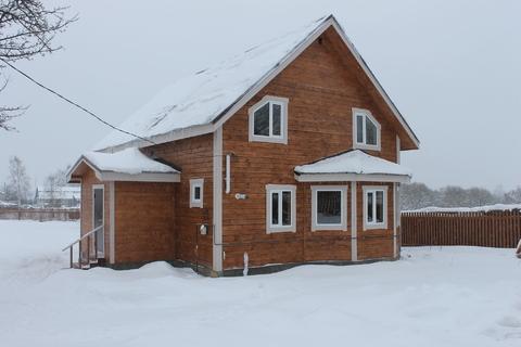 Дом из бруса с Газом, 15 соток, д. Лизуново - Фото 2