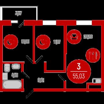 Продажа квартиры, Тюмень, Ул. Тимофея Чаркова, Купить квартиру в Тюмени по недорогой цене, ID объекта - 320237636 - Фото 1