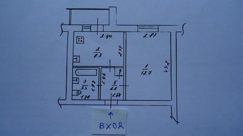 1-комн. квартира ул. Туполева д. 9, 28 кв.м, 4/9 этаж - Фото 2