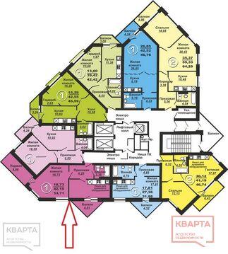 Продажа квартиры, Новосибирск, Мкр. Горский, Купить квартиру в Новосибирске по недорогой цене, ID объекта - 330602315 - Фото 1