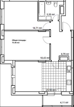 Продается двухкомнатная квартира в новом жилом комплексе бизнес класса - Фото 2