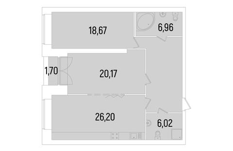 Продается квартира комфорт класса в ЖК Сосновка - Фото 3