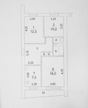 3-комнатная квартира в центре! Мира, 24 - Фото 2