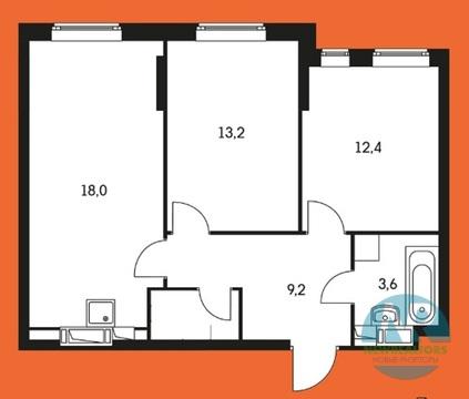 Продается 2 комнатная квартира в ЖК Маршала Захарова - Фото 2