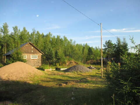 Баня на участке 10 сот, СНТ, г. Тосно+15 км - Фото 1