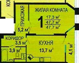 3 577 500 Руб., Продается квартира г Тула, пр-кт Ленина, д 66а, Продажа квартир в Туле, ID объекта - 333416438 - Фото 1