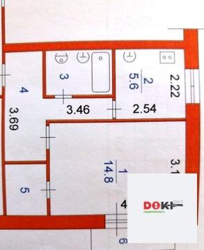 Продается 1 комнатная квартира 33 кв.м - Фото 2