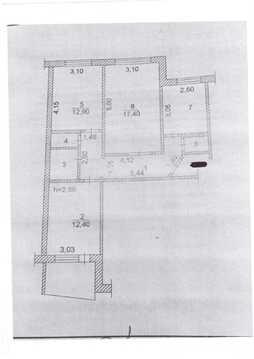 Продаю трехкомнатную квартиру по Ленинскому Комсомолу 38 - Фото 1