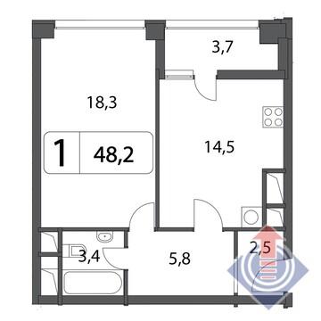 Продажа квартиры, Москва, м. Алексеевская, Ул. Маломосковская - Фото 1