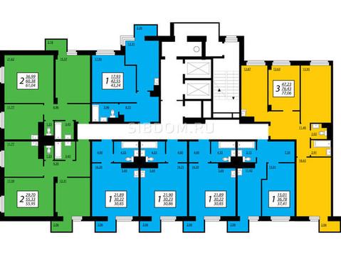 Продам 77 кв.м. Преображенский 14