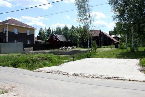 Участок с коммуникациями и фундаментом 10х12 в поселке Солнечный Город - Фото 5