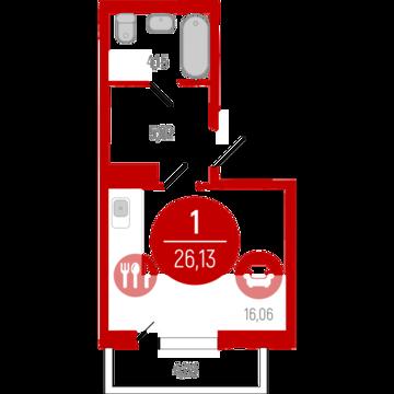 1 500 000 Руб., Продажа квартиры, Тюмень, Ул. Тюменская, Купить квартиру в Тюмени по недорогой цене, ID объекта - 307452570 - Фото 1