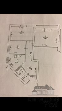 Продам трехкомнатную квартиру на Зеленой, дом 8 - Фото 3