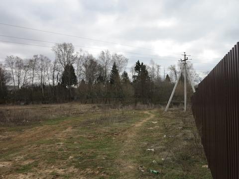 ИЖС 7.5 соток в деревне Кромино (Апрелевка). 25 км от МКАД. - Фото 5